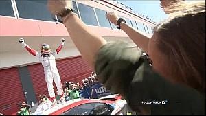 La mejor acción de la carrera de WTCC principal en Argentina