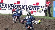 Best bits of EMX150 race one in Switzerland