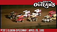 #ThrowbackThursday: World of Outlaws Craftsman Sprint Cars Eldora Speedway April 20, 1991