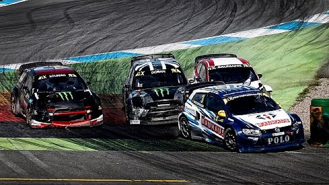 FULL RACE: Hockenheim RX 2016: Semi Final 2 | FIA World RX