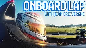 Onboard di Jean-Éric Vergne a Donington