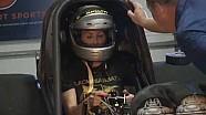 #NHRAToday Team Patron build Alexis DeJoria custom seat