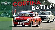 BTCC Champions' Epic Cortina Battle | Goodwood Revival