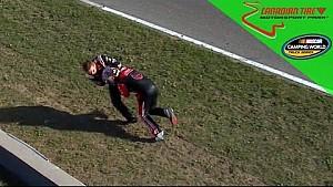 Кастер збиває з ніг Немечека після аварійного фінішу
