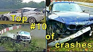 Top 10 de accidentes en Nordschleifen 2013-2016