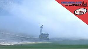 Erik Jones holds off Larson for Windy City win