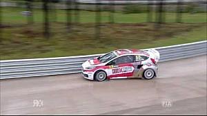Wet Race! - Sunday Warm Up: Latvia RX | FIA World RX
