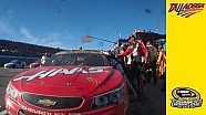 Harvick angry with Kurt Busch post-race