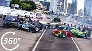 Formula E 360°: Hong Kong ePrix ilk viraj!