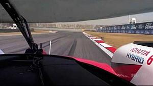Круг по трассе – запись с бортовой камеры экипажа Toyota #6