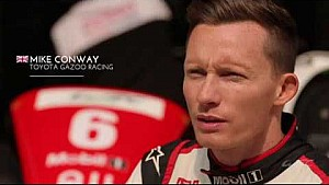 Mike Conway on Shanghai Circuit