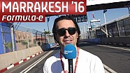 Dario's Track Walk: Marrakesh Edition - Formula E