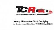 TCR Macau 2016 - Sıralama turları