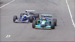 1994 Avustralya GP'si - Schumacher vs Hill