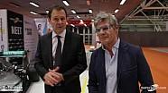 Aldo Costa al Motor Show con Motorsport.com