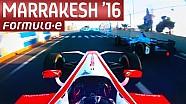 ePrix di Marrakech: la gara dall'abitacolo