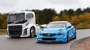 Volvo Trucks - Iron Knight vs Volvo S60 Polestar