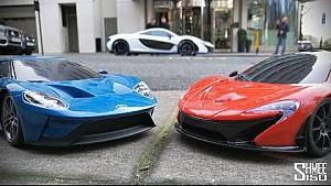 Ford GT vs McLaren P1 como regalo navideño