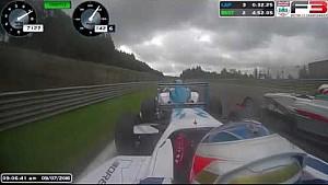 Борьба в британской Формуле 3 на этапе в Спа
