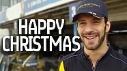 Gli auguri natalizi della Formula E
