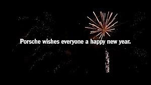 Porsche vous souhaite une bonne année 2017 !