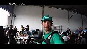 Dakar-Helden: 2. Etappe