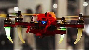 Lucas Di Grassi e il drone... autonomo