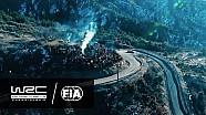 Le Rallye Monte-Carlo 2017 vu du ciel
