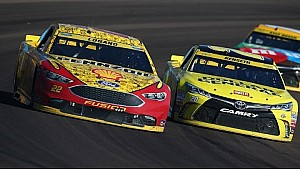 Joey Logano loves location of Phoenix start/finish line