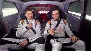 Jérôme D'Ambrosio e Loïc Duval sulla FF91