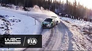 WRC 2 - Rally Sweden 2017: WRC 2 Highlights Saturday