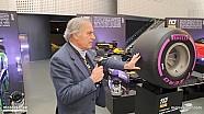 Giorgio Piola - New F1 Pirelli tyres