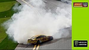 Daytona Clash: Burnouts von Sieger Logano