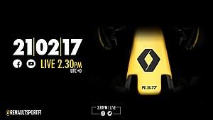 CANLI - Renault Sport Formula One Team R.S. 17 tanıtımı