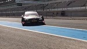 Audi beim DTM-Test in Portimao