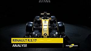 Analyse de la Renault F1 R.S.17 2017