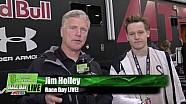 Alix/Nichols Talk About Crash - Atlanta - Race Day Live - 2017