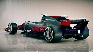 Новий болід Haas F1 2017 року