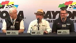 Jack Roush at the Ford Press Conference