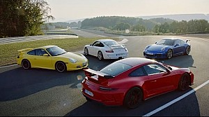 The new 911 GT3. Features.
