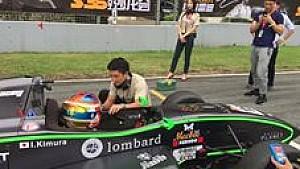 Rio Haryanto saat menjadi mentor pembalap