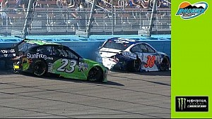 Gaulding, Ragan collide in Turn 1