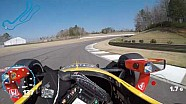 Alexander Rossi at Barber Motorsports Park