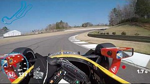 IndyCar-Helmkamera in Birmingham