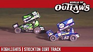 World of Outlaws Craftsman sprint cars dirt Stockton dirt track March 25, 2017 | highlights