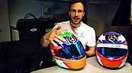 Gary Paffett zeigt neues Helmdesign