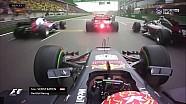 Çin GP start tekrar görüntüleri