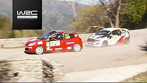 FIA Junior WRC - Tour de Corse 2017: Junior WRC highlights day 2