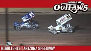 Sprint cars Arizona speedway April 8, 2017 | highlights