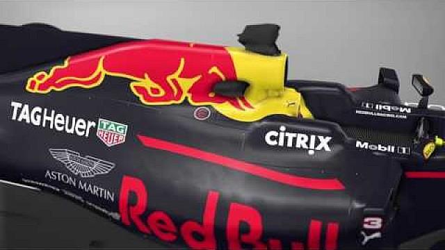 Formule 1 3D-analyse van de Red Bull RB13